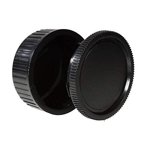 CamDesign Body Cap & Camera Rear Len Cover Set for Pentax *ist DS, DS2, D, DL, DL2, K10D, K20D, K100D, K110D, K200D, K100D Super, K-5, K-7, K-30, K-r, K-x, K-m, (K-m aka K2000), K-01 + CamDesign Wristband Lens Focus Ring