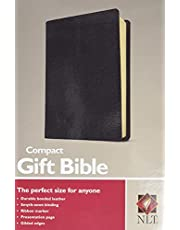 Compact Gift Bible NLT (Bonded Leather, Black)