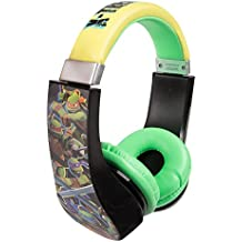 Teenage Mutant Ninja Turtles 30365 Kid Safe Over the Ear Headphone w/ Volume Limiter by Sakar