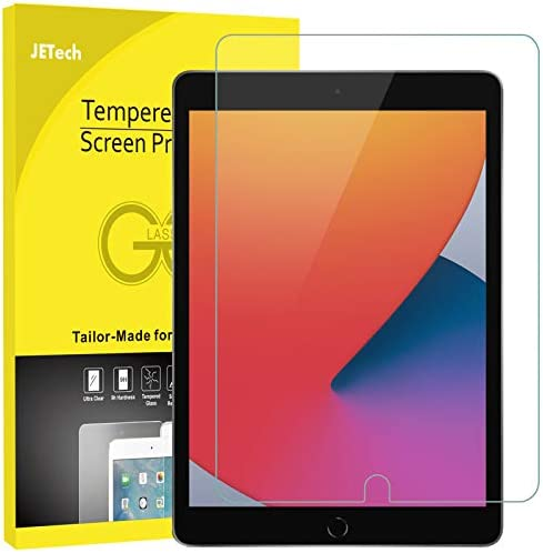 JETech Screen Protector appropriate with iPad (10.2-Inch), Tempered Glass Film