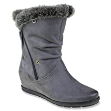 Earthies Women's Gelderland Faux Fur Boot