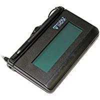 Topaz T-L462-B-R LCD 1x5 Signature Capture Pad - Serial Connection (Not USB)