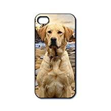 Dimension 9 3D Lenticular iPhone 5/5s Cell Phone Cover - Retail Packaging - Yellow Labrador Retriever, Pet Breed Series