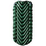 Klymit Static V Junior/Youth Ultralight Sleeping Pad, Green/Char Black