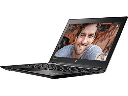 Lenovo Thinkpad Yoga 260 Convertible Laptop / 12.5 inch IPS FHD Touchscreen (1920x1080), Intel Core i5-6300U, 256GB SSD, 8GB DDR4 Memory, Windows 10 Professional 64-bit - Webcam - Black (Renewed)