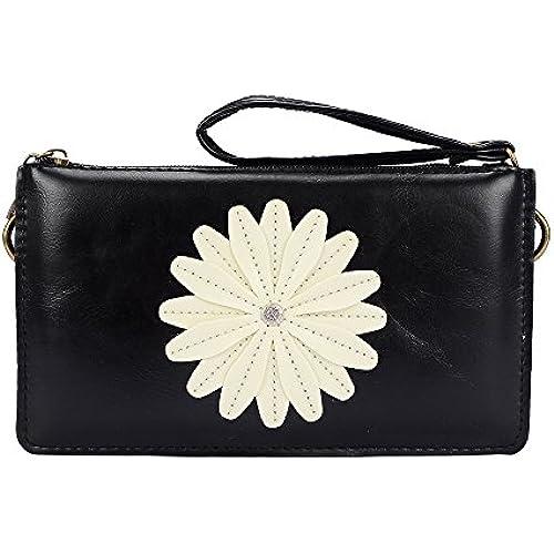 Women's Cellphone Clutch Wallet Handbag Shoulder Pouch with Daisy Decor for Samsung Galaxy Note 7 / S7 Edge / S7 Active / J3 Pro / A9 Pro / C5 / C7 / J5 / J7 Sales