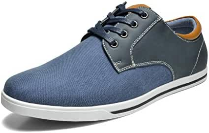 Bruno MARC RIVERA New Men's Classic Fashion Lace Up Casual Oxfords Sneakers Shoes