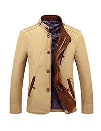 bad54d07e7fb8 Veepola men s coat Chamarra de Invierno para Hombre