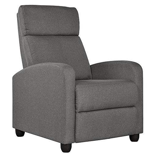 Yaheetech Fabric Recliner Chair