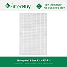 Honeywell R Filter, HRF-R3 HEPA Filters. Designed by FilterBuy to fit Honeywell HPA-090 Series, HPA-100 Series, HPA200 Series & HPA300 Series Air Cleaning Systems.