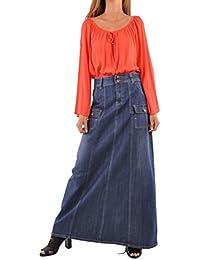 Appealing In Cargo Denim Skirt