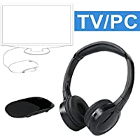 Wireless Headphones Audio Out Laptop Upgraded Overview