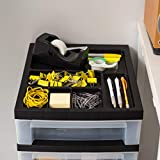 IRIS USA, Inc. MC-322-TOP 4-Drawer Storage Cart