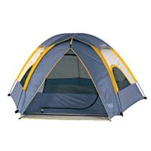 Wenzel 36419 Alpine 8.5-by-8-foot Dome Tent (Light Grey/Blue/Gold)