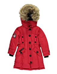 "Canada Weather Gear Little Girls' ""Snapped Seams"" Insulated Jacket"