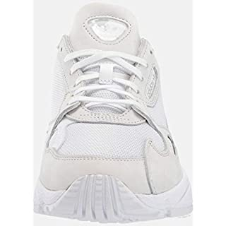 adidas Originals Women's Falcon Sneaker, White/White/Crystal White, 10 M US
