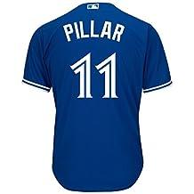Toronto Blue Jays Kevin Pillar 2016 Cool Base Replica Alternate MLB Baseball - Size XX-Large
