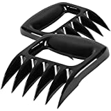 Foundfun Pulled Pork Shredder Claws - Easy to Clean & Anti-Scratch Cookware - Solid BBQ Meat Claws(Version 2.0) for Lift, Handle, Shred and Cut Meats (Set of 2, Plastic, FDA)