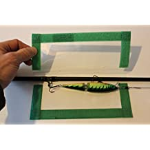 """The Lure Jacket 3-Pack Angler Size (Green) - 8"""" L x 8"""" W"""