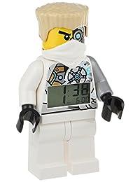 LEGO Ninjago Zane Minifigure Alarm Clock