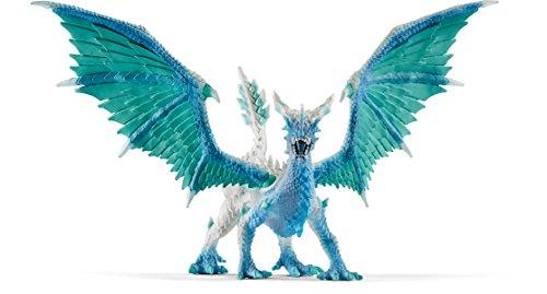 Schleich North America Dragon Ice Hunter Figure