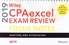 Reinforce key concepts for the AUD section of the CPA Exam with the easy-to-read and carry spiral-bound Wiley CPAexcel Exam Review 2019 Focus Notes: Auditing and Attestation. Learn acronyms and mnemonic devices to help you remember accounting...