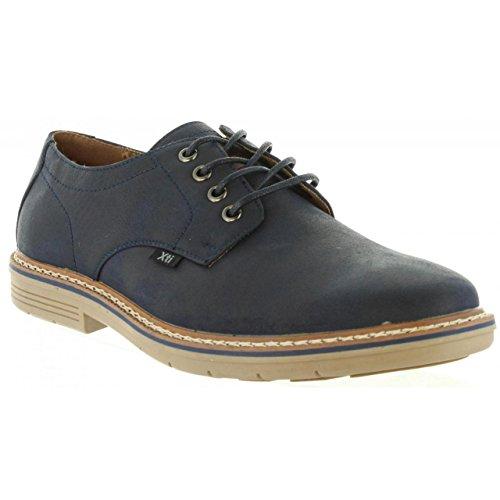 Zapatos Hombre Azul Marino 47081 Cordón XTI Zapato HAqWInwg