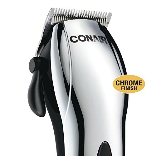 Conair Cord/Cordless 22-piece Haircut Cutting Kit; Chrome