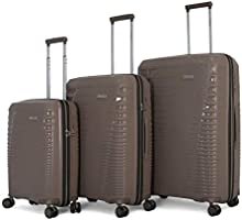 Save 38% on Titan light weight hardshell luggage 100% polypropylene with TSA lock, set of 3pcs