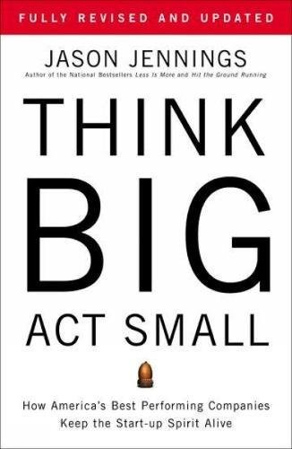 Think Big Act Small Performing product image
