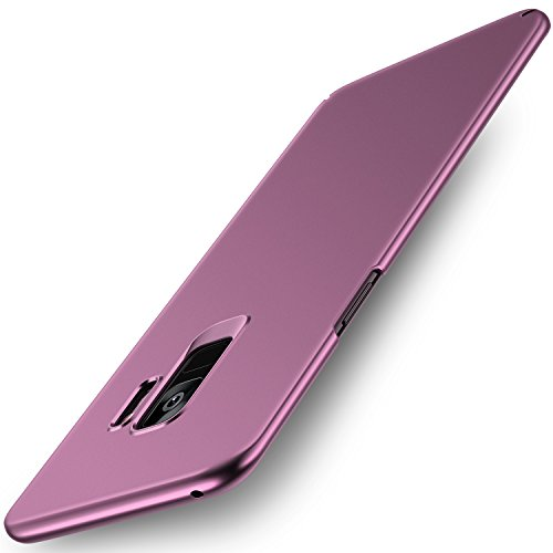Samsung Galaxy S9 Case, RANVOO Ultra Slim Thin Fit Hard Protective [Anti-Fingerprints] with Coated Matte Surface for Excellent Grip [Support Wireless Charging] for Samsung Galaxy S9 - Lilac Purple by RANVOO