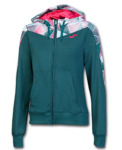 JOMA GRAFITY JACKET PATTERNED HOODED GREEN L