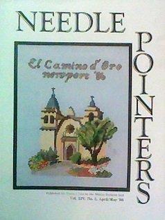 - NEEDLE POINTERS CROSS STITCH MAGAZINE APRIL-MAY 1986