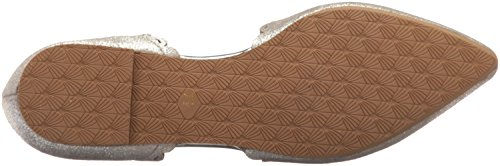 Pointed Research Seychelles Women's Flat Silver Toe FwPUaRqwx