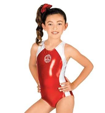 Child Gymnastic Peace Leotard,G524CROYL,Royal,Large