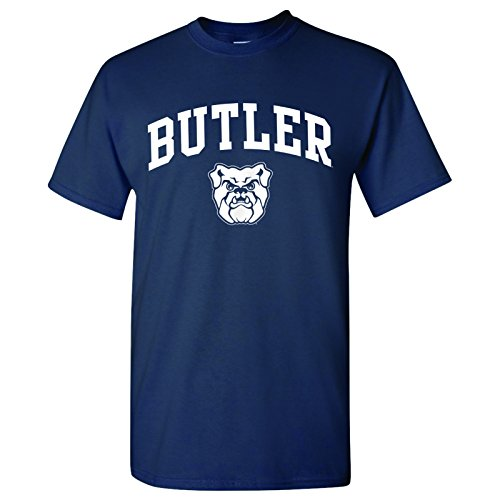 UGP Campus Apparel Butler Bulldogs Arch Logo T-Shirt - Large - Navy (Butler Basketball Shorts)
