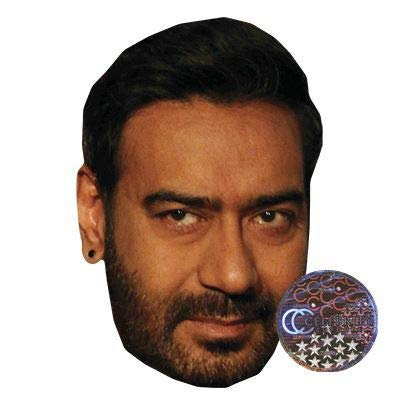 Celebrity Cutouts Ajay Devgan Big Head. Larger Than Life mask. (All The Best Ajay Devgan)