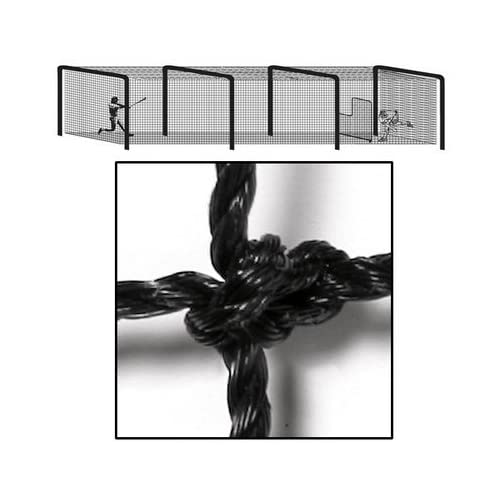 Image of Badminton BSN Sports Varsity Batting Tunnel Net (55 ft. L x 14 ft. W x 12 ft. H)