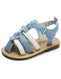 Boys & Girls Flat Sandals for Toddler/Little Kid Summer Shoes