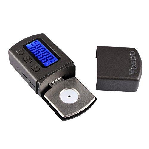 Yosoo LP Digital Turntable Stylus Force Scale Gauge Led (Batteries Not Included) Dj Turntable Cartridge Package