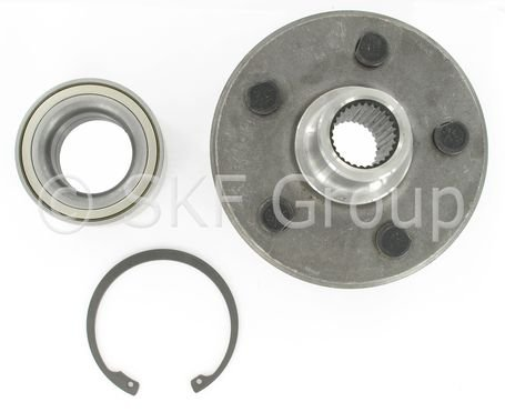 SKF BR930259K Wheel Bearing and Hub Assembly Repair Kit (Generation 1 Hub Design)