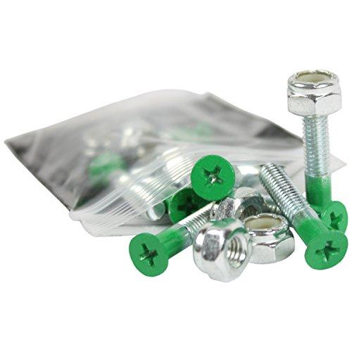 Dimebag Skateboard Hardware 1-Inch, Green