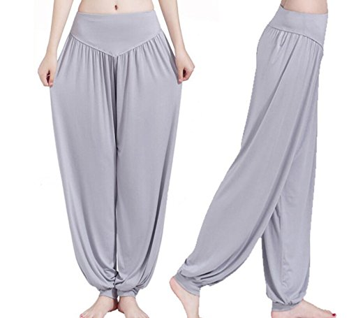 Grey Comfy Yoga Pants Fitness Fashion Accessory,Suitable for indoor/outdoor exercise yoga/jogging/dancing