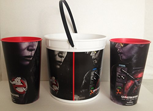 vie Theater Exclusive 170 oz Popcorn Tub and 44 oz Cups Set ()