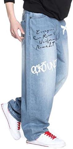 ストリート系 大きいサイズ ジーンズ メンズ デニム パンツ ストレッチ レギュラー ストレート ジーパン ズボン カーゴパンツ ヒップホップ カジュアル ゆったり 動きやすい ロングパンツ キングサイズ