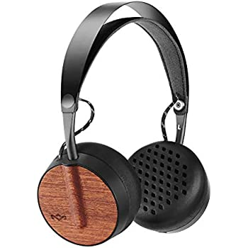 House of Marley, Buffalo Soldier Wireless Bluetooth On-Ear Headphones - 16 Hour Playtime, Removable 1-Button Microphone on Tangle Free Cable, ...