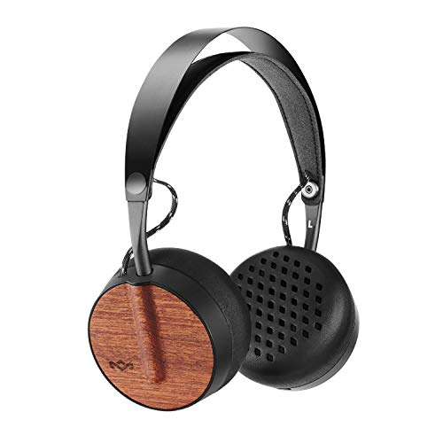 House of Marley Buffalo Soldier Bluetooth Over Ear Headphones with a Microphone