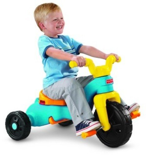 Fisher-Price Rock, Roll 'n Ride Trike Plastic Tricycle