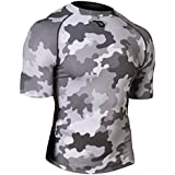 Defender Men's Cool Dry Compression Baselayer Quick Dry Running Shirt