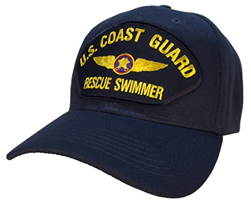 Coast Guard Rescue Swimmer Hat Blue Ball Cap